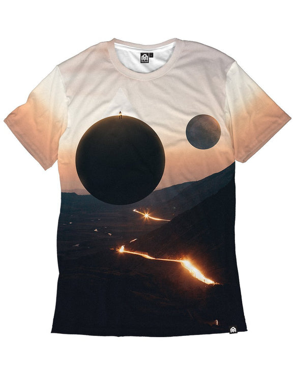 Twin Moons Men's Tee-Front