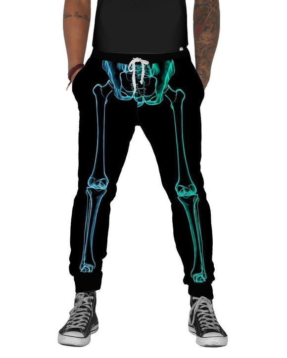 X-Ray Skeleton Joggers-front