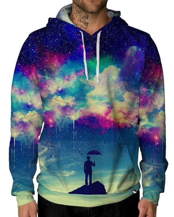 Till The Sky Falls Down Pullover Hoodie-Male-Front