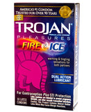 Trojan Fire and Ice Condoms - Warming & Tingling