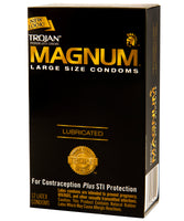 Trojan Magnum Large Size Condoms