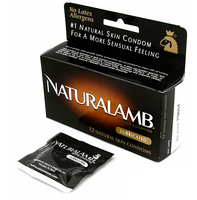 Trojan Naturalamb Non-Latex Condoms