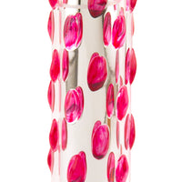 Pink Studded Glass Vibe
