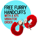 Free Furry Handcuffs With Any $75 Order