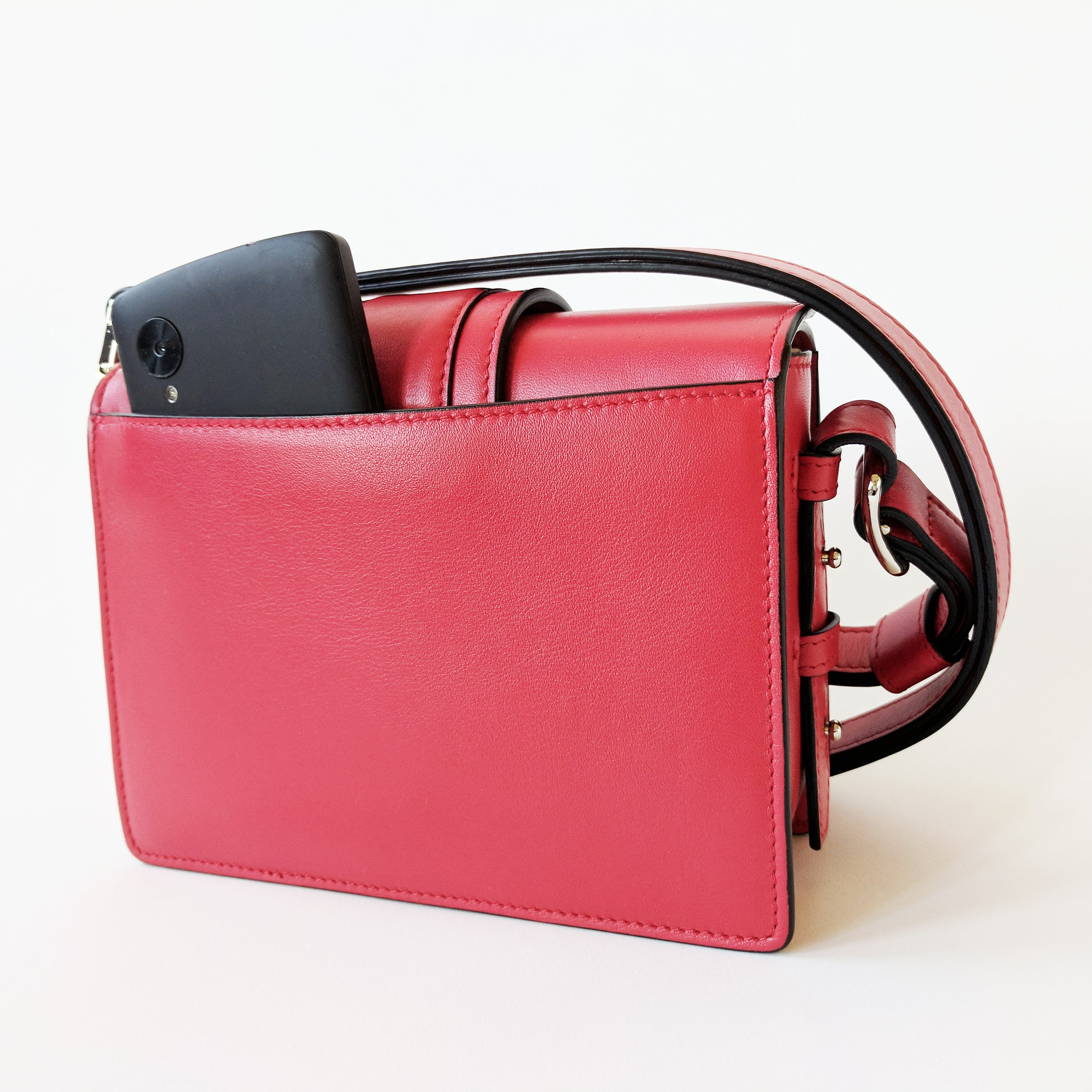 Cho-Rong Mini Crossbody in Lipstick