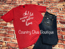 Oh Come Let Us Adore Him T Shirt