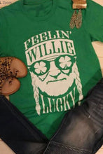 Feeling Willie Lucky T Shirt
