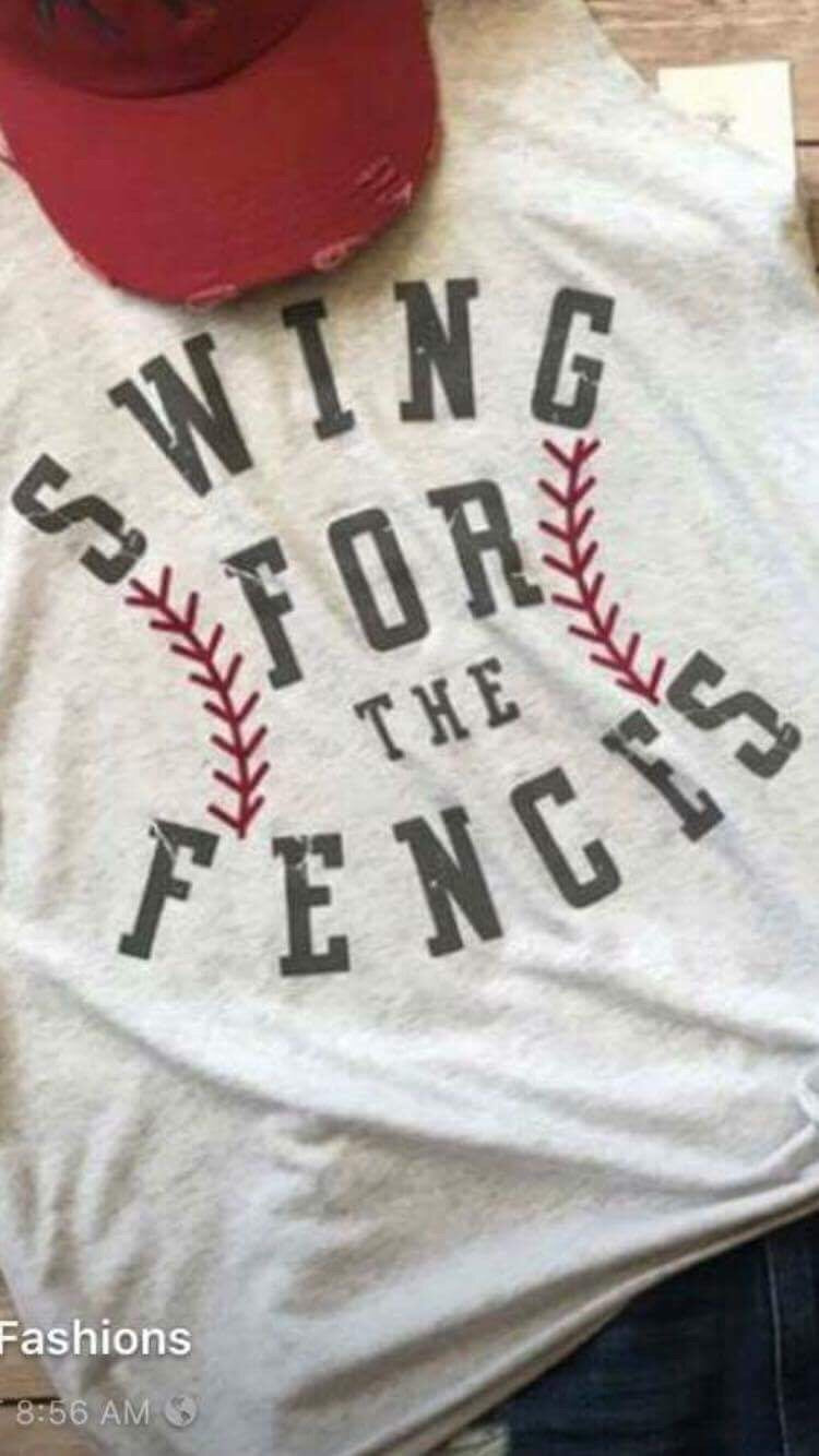 Swing For The Fences T Shirt
