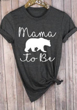 Mama Bear To Be T Shirt