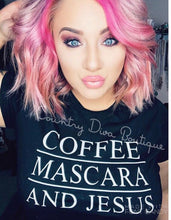 Coffee Mascara Jesus T Shirt