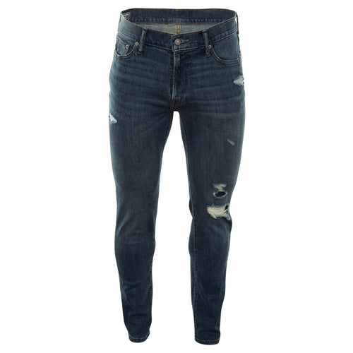 Abercrombie & Fitch Ripped Athletic Slim Jeans Mens Style : 131-318-1413