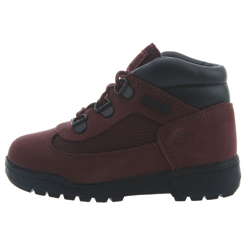 Timberland Field Boots Toddlers Style : Tb0a1att-Burgundy