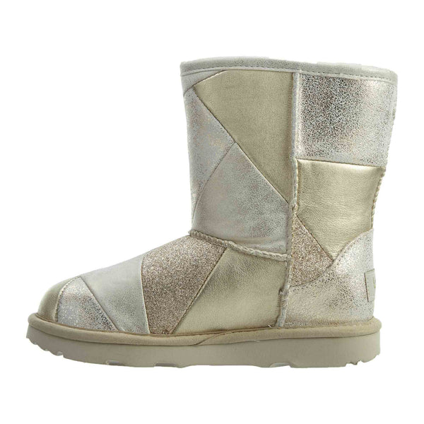 Ugg Classic Short Ii Patchwork Little Kids Style : 1096431k Gold
