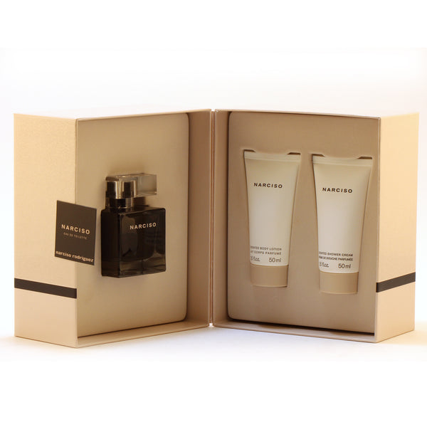 Narciso By Narciso Rodriguezladies 1.7 Ep Sp/1.7 Sg/1.7 Bl Set