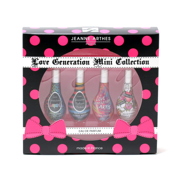 JEANNE ARTHES MINI COFFRET LOVE GEN/LEOP/FASH VIC/ARTS/ROCK