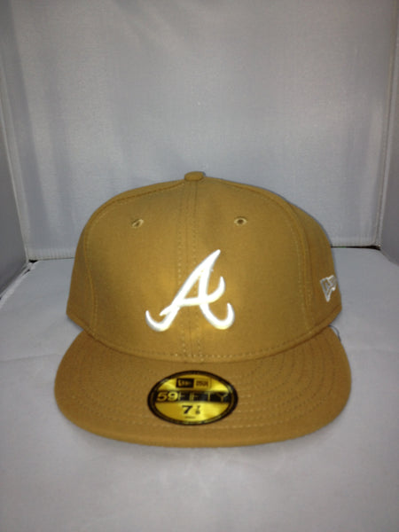 Atlanta Braves New Era Fitted BROWN/WHITE 15