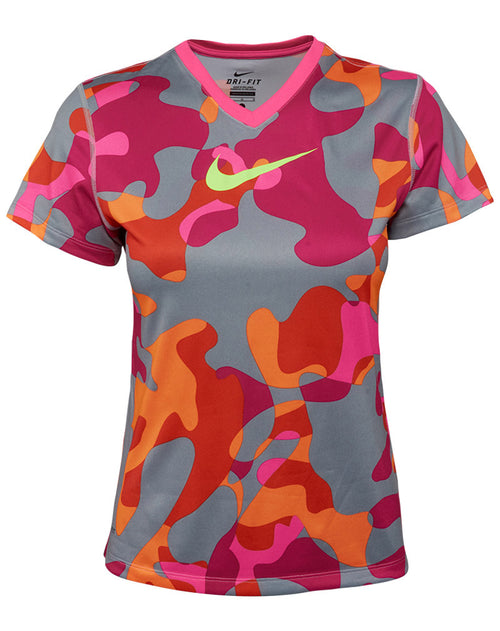 Nike  Legend Swoosh Fill V-neck T-shirt Big Kids Style : 684092