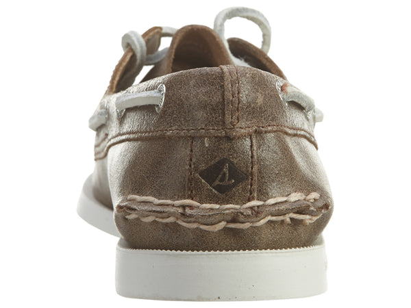 Sperry Top - Sider A/o 2‑eye White Cap Womens Style : Sts94957