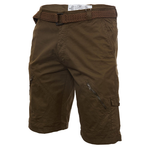 Giorgio West Cargo Short Side Pocket Zip Mens Style : Dp7311ms