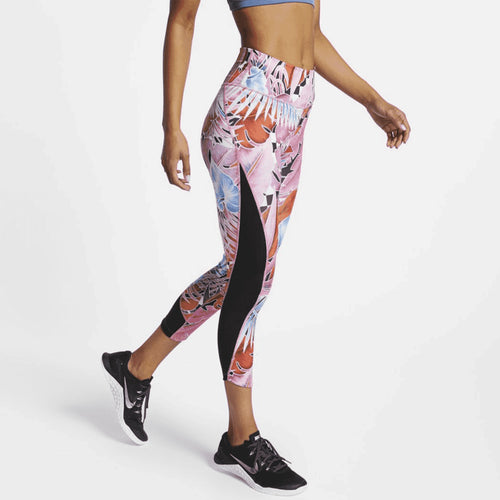 Nike One Printed Cropped Leggings Womens Style : Cd9729