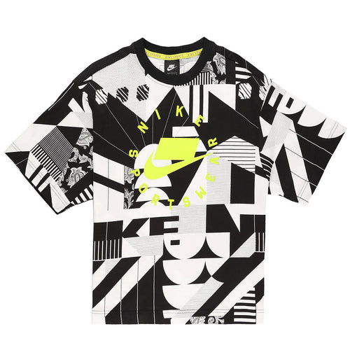 Nike Oversized Printed T-shirt Womens Style : AT0564