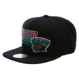 Mitchell&ness Vamcouver Grizzlies Score Keeper Snapback   Unisex Style : Bh71m6