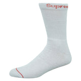 Supreme Hanes Crew Socks (4 Pack) Mens Style : Ss18a26