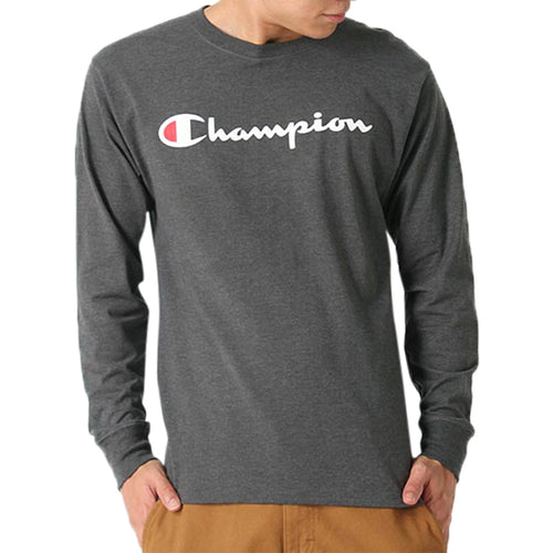 Champion Jersey Long Sleeve Tee Mens Style : Gt78h