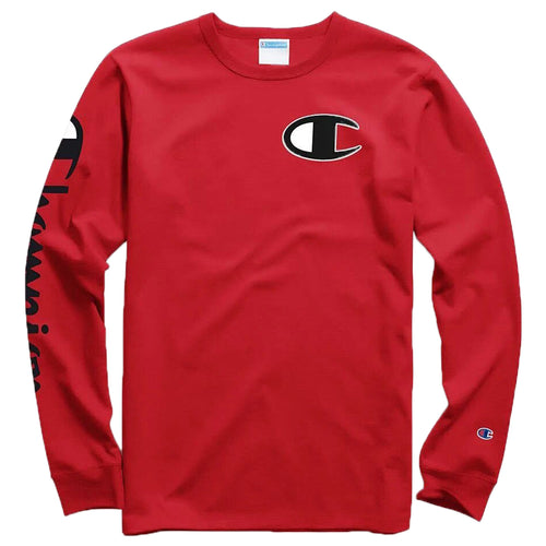 Champion Heritage Long Sleeve Tee Mens Style : Gt47y07789