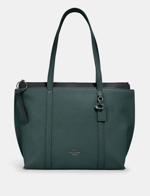 May Tote COACH Style # 1573 Sv/Dark Turquoise