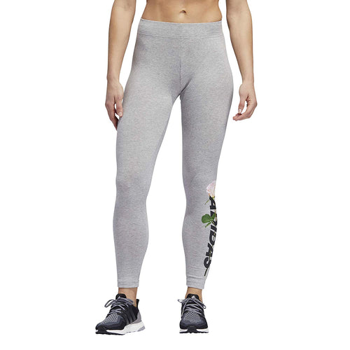 Adidas Athletics Roses Floral Leggings Womens Style : Ej9965
