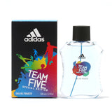 ADIDAS TEAM FIVE MEN- EDT SPRAY