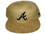 Atlanta Braves New Era Fitted BROWN/BLACK 14