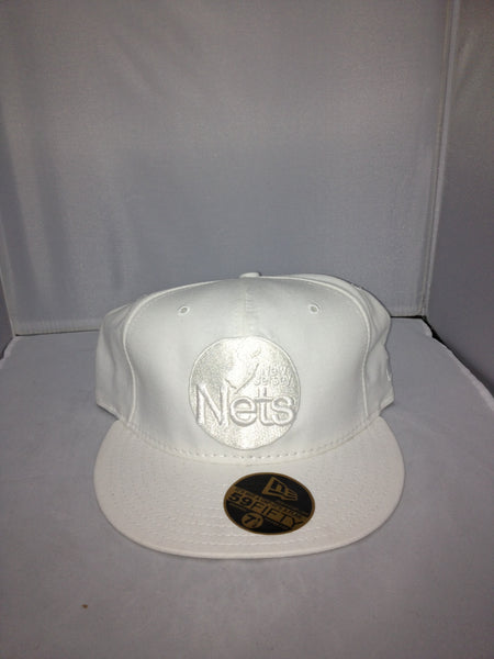 New Jersey Nets New Era Fitted White 62