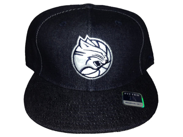Charlotte Bobcats Reebok Fitted Black/Silver 143