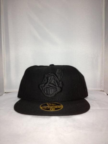 Cleveland Indians New Era Fitted Black 277