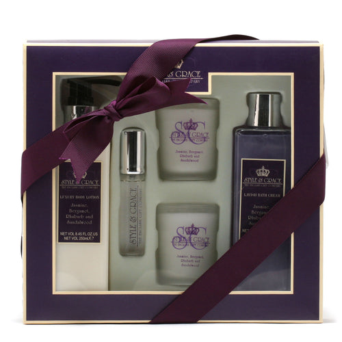 STYLE & GRACE TIMEOUT BATH EXP8.45BL/8.45BC/.51SP/CANDLES -2