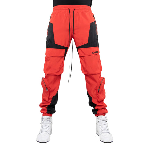 Eptm Color Block Nylon Pants Mens Style : Ep9691
