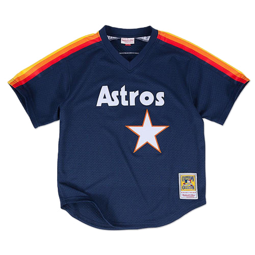 Mitchell&ness Nolan Ryan 1988 Authentic Mesh Bp Jersey Houston Astros Mens Style : 5621a