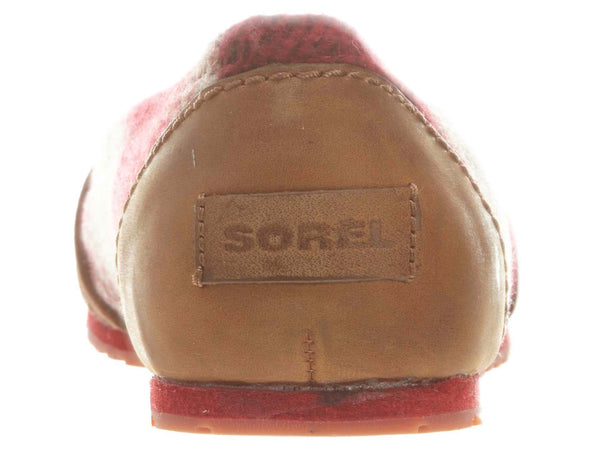 Sorel Yaquine Moc Slip-Ons Womens Style Nl2031