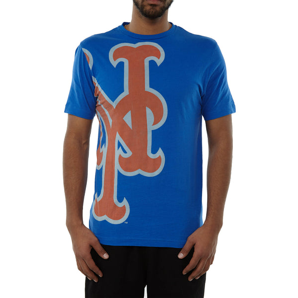 outlet store a7f01 d7882 Wright Ditson New York Mets Overgrown Short Sleeve Crewneck T-Shirt Mens  Style : WD755