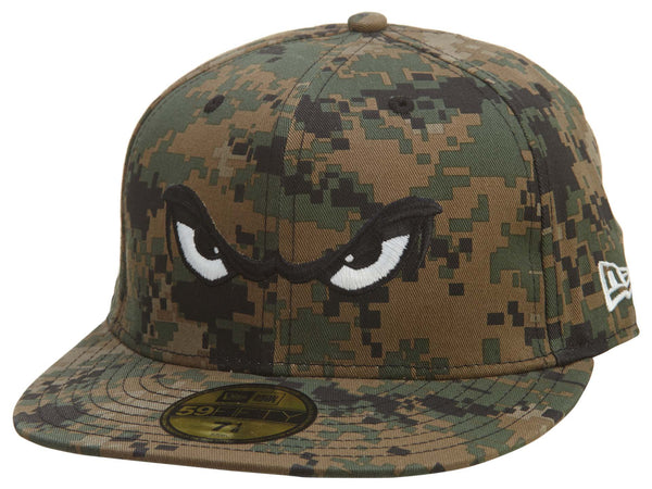 New Era Bulls Eyes 59fifty Fitted  Unisex Style : Hat799
