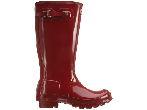 Hunter Original Gloss Waterproof Rain Boots Big Kids Style : Jft6000rgl