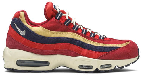 NIKE / AIR MAX 95 / AIR MAX 95 PREMIUM 'RED CRUSH' Style # 538416 603