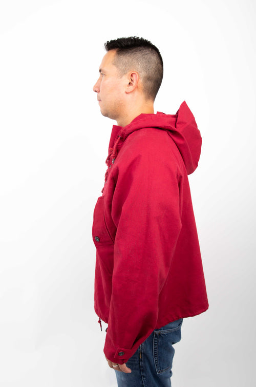 PRESI USA Military Anoraks - Cranberry