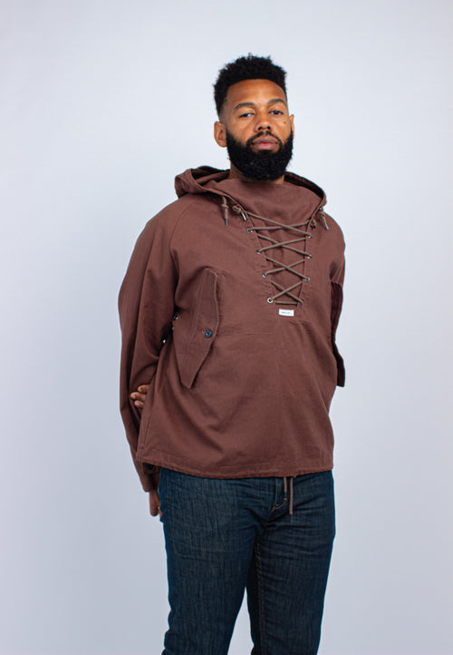 PRESI USA Military Anoraks - Chocolate