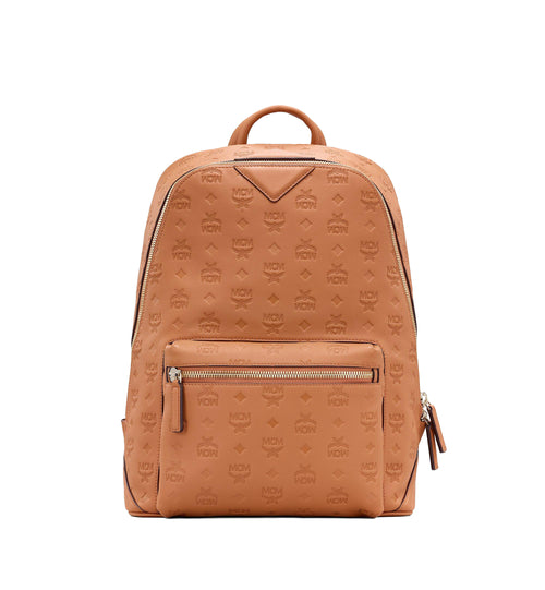 MCM Medium Neo Duke Backpack in Monogram Leather Cognac Style #: MMKASDK01CO001