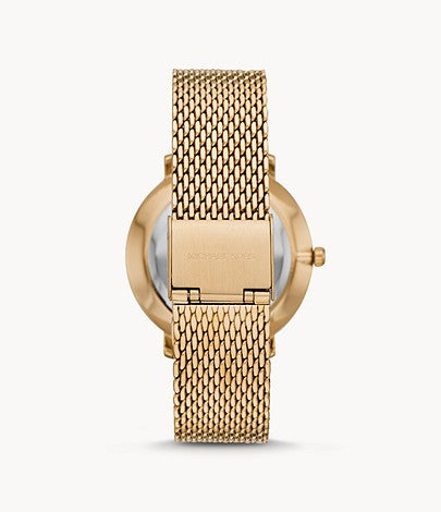 Michael Kors Women's Pyper Gold-Tone Stainless Steel Watch Style # MK4393 Gold
