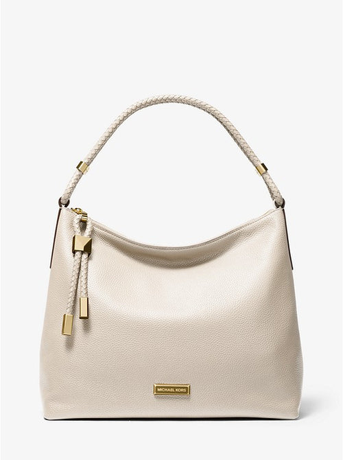 MICHAEL KORS Lexington Large Pebbled Leather Shoulder Bag 30T9GNDL3L