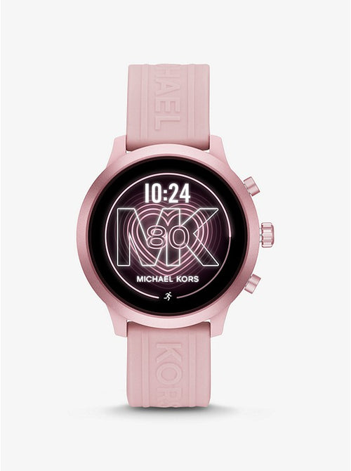 Michael Kors Access MKGO Pink-Tone and Silicone Smartwatch Style # MKT5070